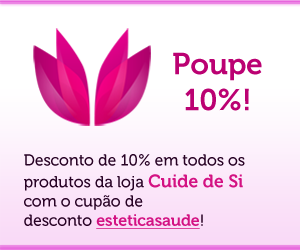 Desconto de 10% em todos os produtos Cuide de Si!