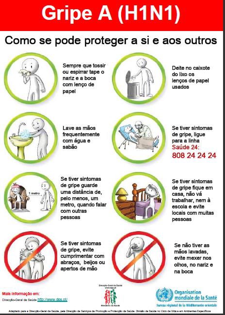 Como se proteger a si e aos outros da gripe A?