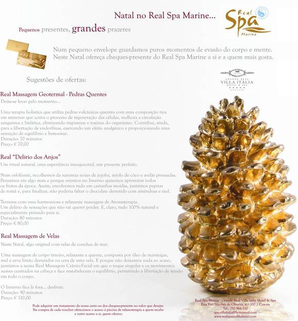 Real Spa Marine - Promoção de Natal