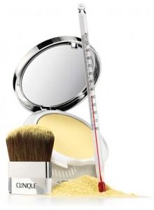 Clinique apresenta Instant Relief Mineral Pressed Powder um pó compacto mineral indicado para tratar da vermelhidão