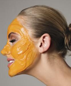 Máscara caseira anti-envelhecimento