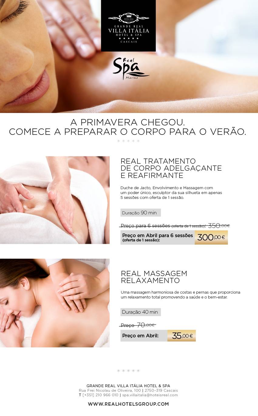 Abril no Real Spa Marine