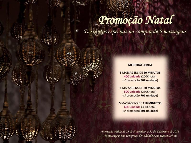 Promoção Natal Medithai