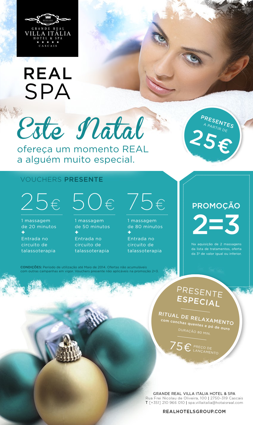 Natal no Real Spa