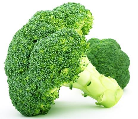 Ácido fólico (vitamina B9) - Brócolos