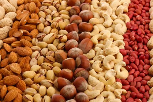 Vitamina E - Frutos Secos