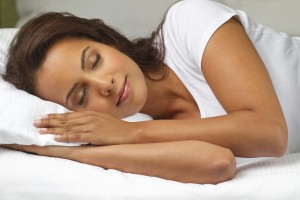 Limpar o rosto antes de dormir